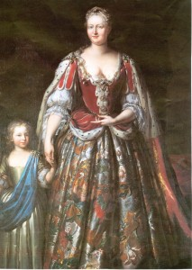 Portrait of Caroline from Orleans House Gallery, courtesy of Borough of Richmond