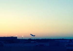 US blog plane home