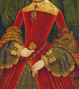 fashion blog 9 Tudor red dress