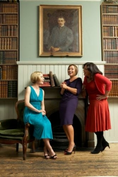 With Amanda Vickery and Bettany Hughes, by Tessa Hallmann, for the Express